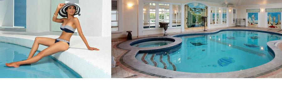Коттеджи с баней и с бассейном